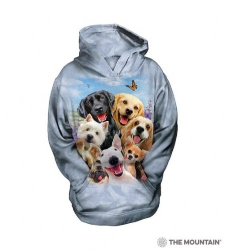 Kids Hoodies - Dogs Selfie  - The Mountain®